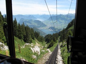 Cogwheel Railway - steepest railway in the world