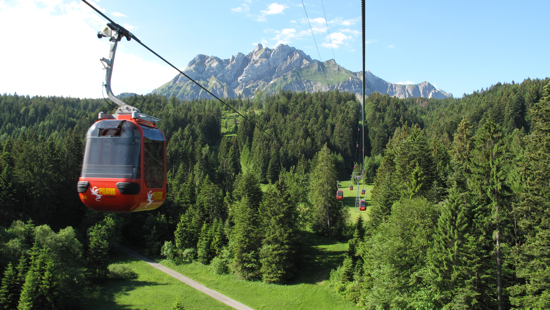 Gondola ride to Mt Pilatus
