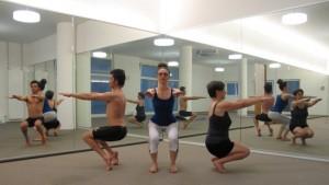 Matt, Aleksandra & Johanna at Bikram Yoga Luzern