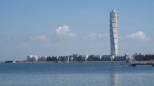 Malmo from the beach