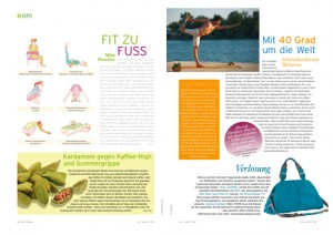 Yoga Journal Germany - OM Pages