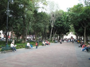 Plaza in Coyaocan