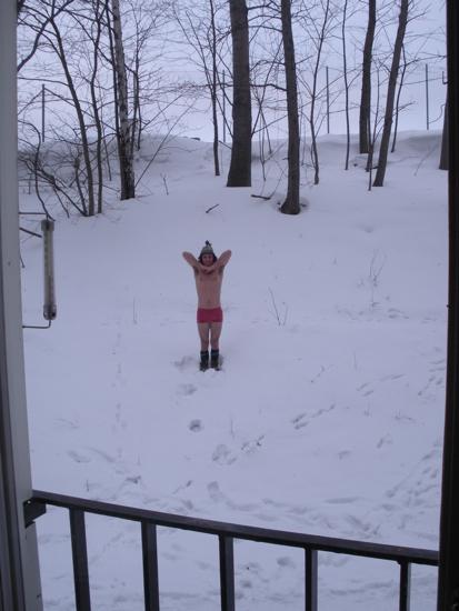 Pranayama - Standing Deep Freezing